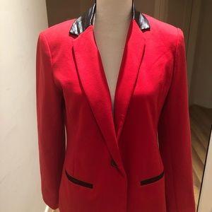 Red & black Ellen Tracy jacket
